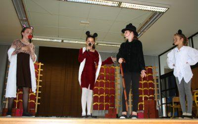 """Dramsko – plesna poslastica  """" Miši v operni hiši"""""""